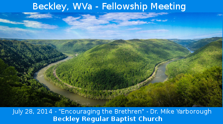 Fellowship Meeting – Beckley, West Virginia