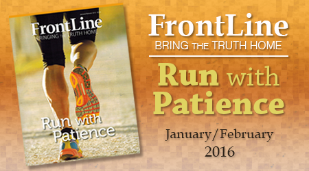It's Time to Run–FrontLine Jan/Feb 2016