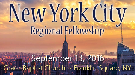 New York City Regional Fellowship – Sept 13, 2016