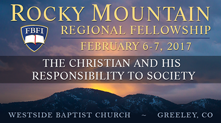 Rocky Mountain Regional Fellowship 2017